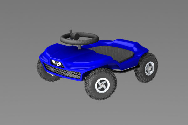 French kart 800 - Kart KIDS blue