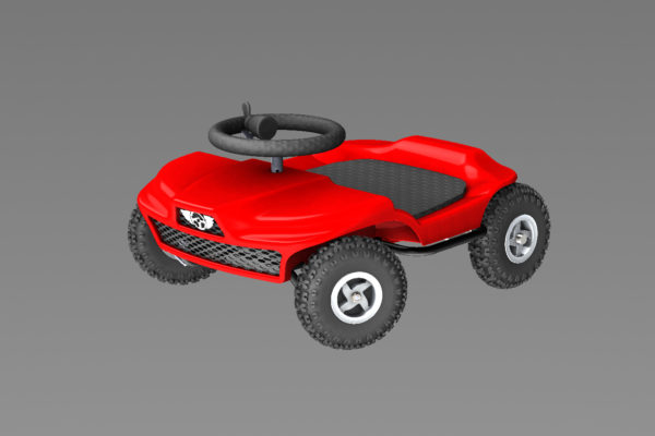 French kart 800 - Kart KIDS red