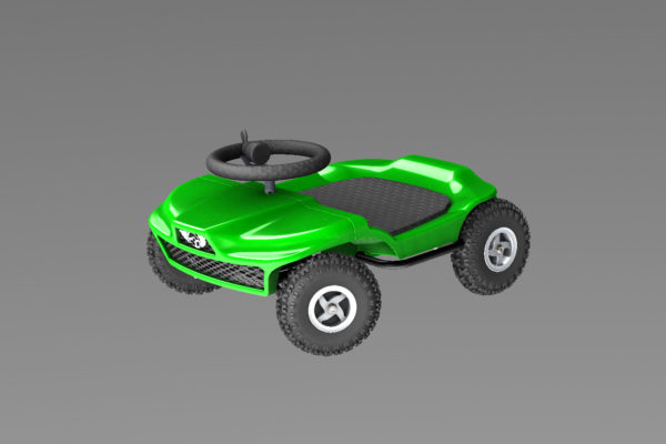 French kart 800 - Kart KIDS green